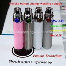 Free sample newly ego vp battery of ego t electronic cigarette 1100 China supplier vape pen