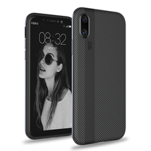 Ultra Thin Slim Case for iPhone 10 Phone Back Cover Carbon Fiber Soft Silicone Case