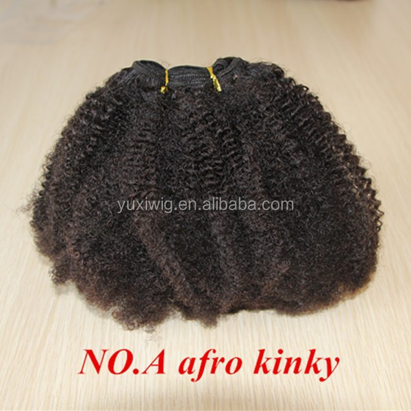 Mongolian afro kinky curly hair weave 5A grade mongolian virgin hair,afro kinky curly hair extension