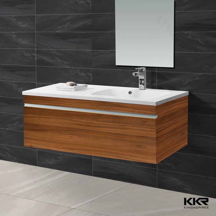 Cheap modern bathroom cabinet with wash basin mirror buy for Wash basin mirror price