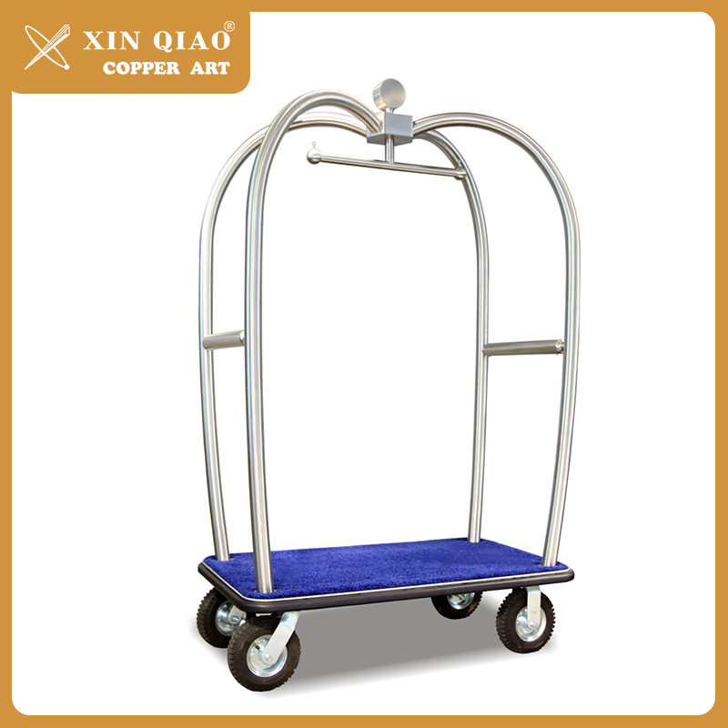 Factory custom-made hotel furniture used luggage carts for hotel