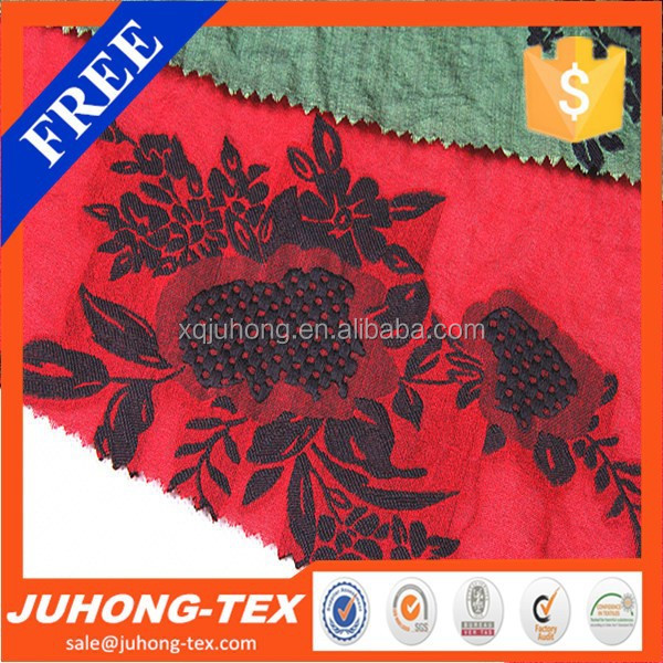 Embroidery fabricJacquard fabric for graceful dressing