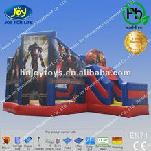 Commercial inflatable castle with slide, avengers inflatable bouncy castle, the avengers inflatable