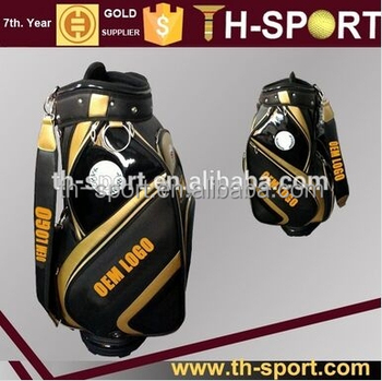 OEM logo golf bag your own golf staff bag