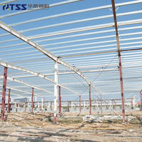 ISO9001 SGS Largest factory small structural industrial big span steel structure