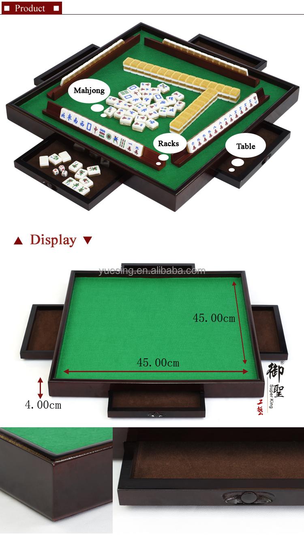 travel mahjong set mini mahjong tiles with mahjong racks