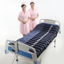 Medical hospital bed inflatable air mattress