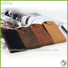 Flip Leather Housing Case for iPhone 5, for iphone 5 flip cover
