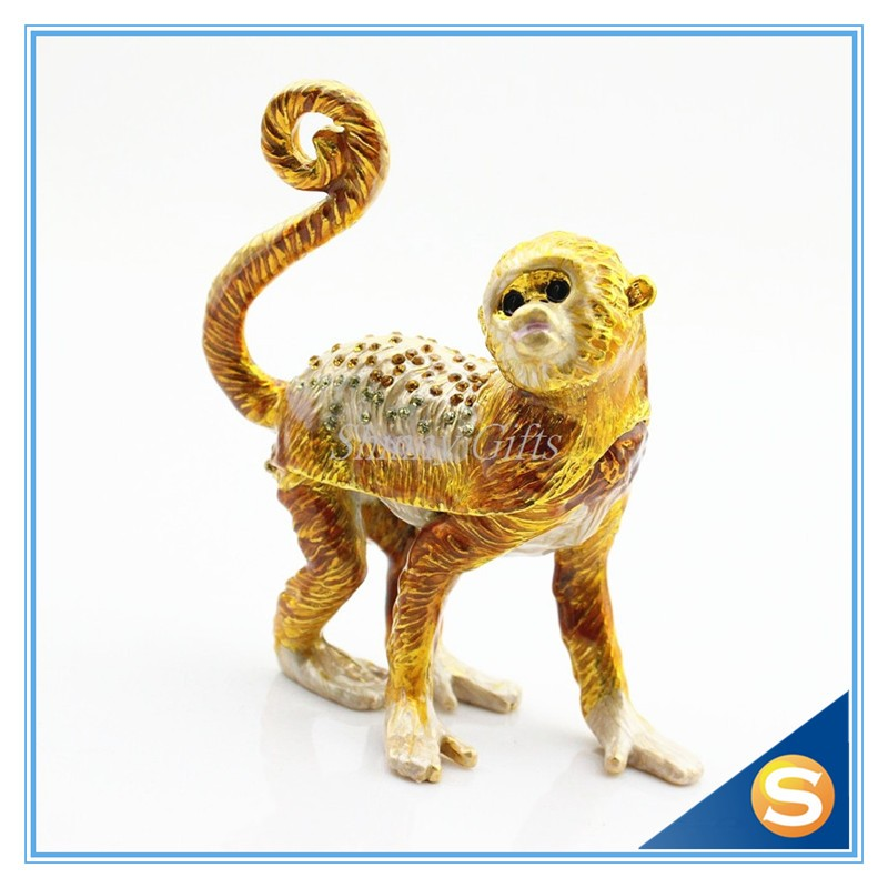 2016 The Year of Money Lucky Animal Trinket Box Jewelry Box