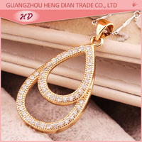 China Wholesale Custom gold plated simple gold pendant design