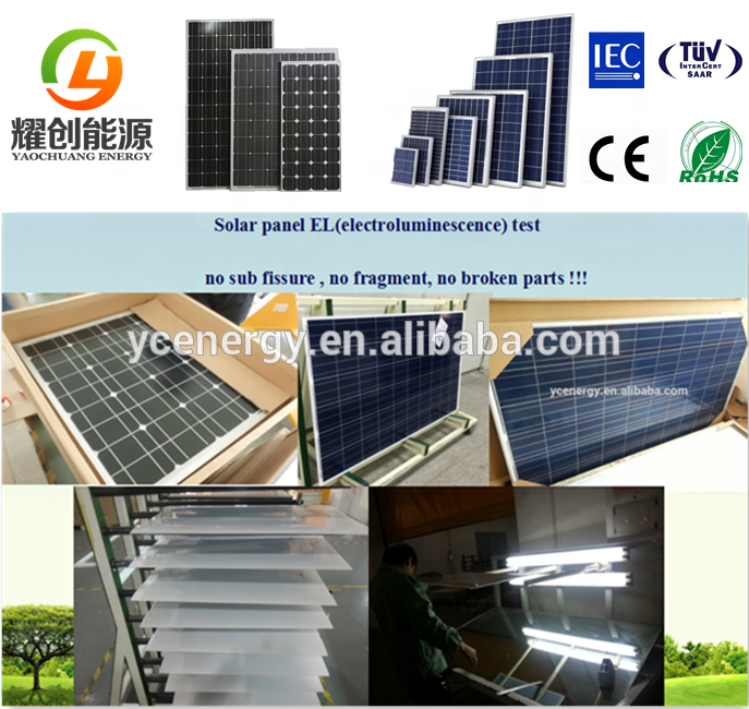 China Factory 60kw On Grid Solar Power System Grid Tied Solar Panel System