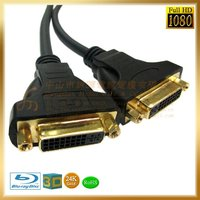 DVI 24+5 female cable, Audio/video extends cable, awm 20276