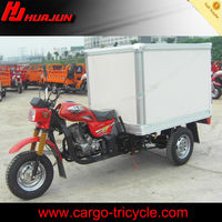van cargo tricycle/motorized bicycle/three wheel gas scooters