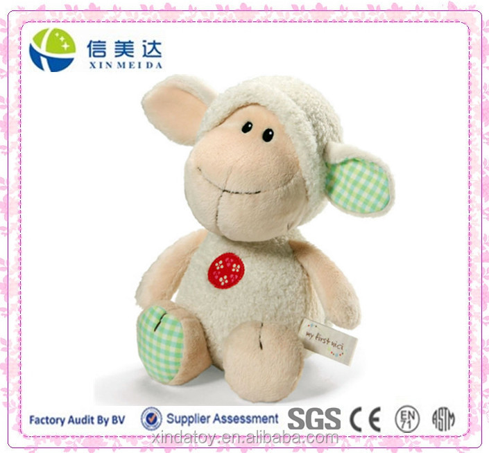 plush lamb toy/safe for babies /toys for kids