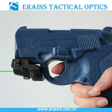 Tactical gree laser sight with charging wire cable and plug charger (ES-XL-OXG)