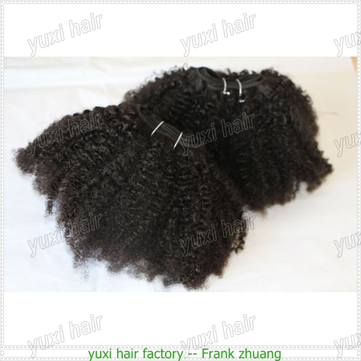 New arrival factory price supply 100% virgin peruvian human hair weaving,virgin kinky curly hair extensions