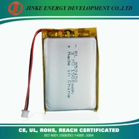 High temperature 1500mah rechargeable li-po battery 853450 with PCB and connector