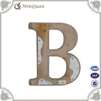wholesale handmade wood sign , decoration wall letter china