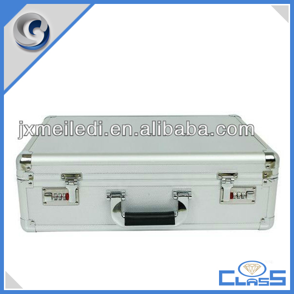 MLD-AC3301 Custom portable large brief aluminum box for luggage tools storage