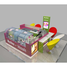 Shopping Mall Food Kiosk Design For Sale Dessert