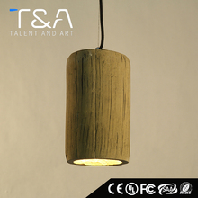 Hot modern E27 concrete cement pendant lamp light for loft decoration