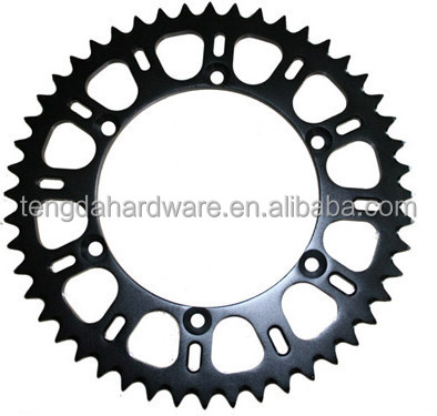 New design motorcycle sprocket,Low price chain sprocket,chain and sprocket