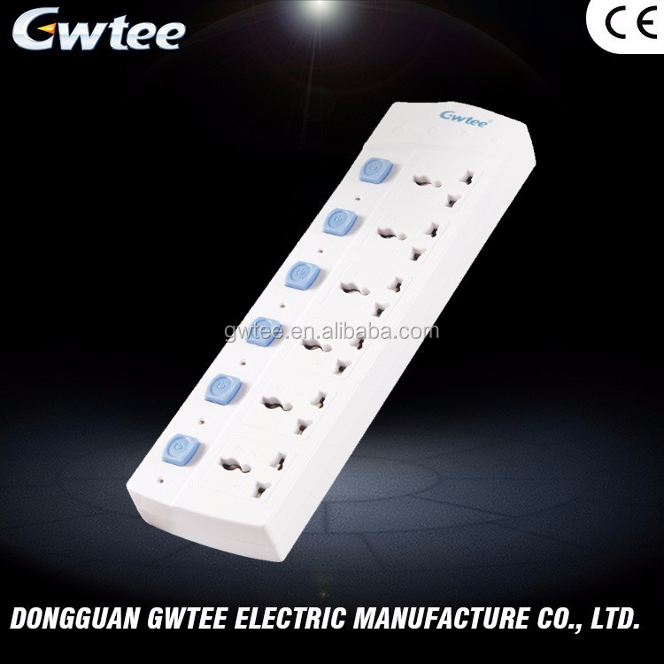 Made in China low price 220-250V 10A 2500W switch power sockets