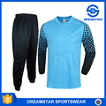 High Quality Goalkeeper Blue Football Jersey Wholesaler