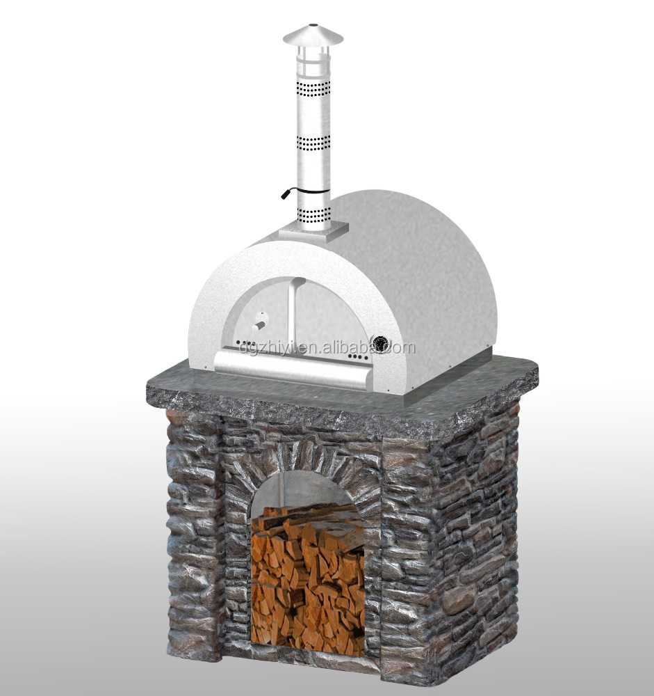 2016 Stainelss steel outdoor portable wood fired charcoal pizza oven