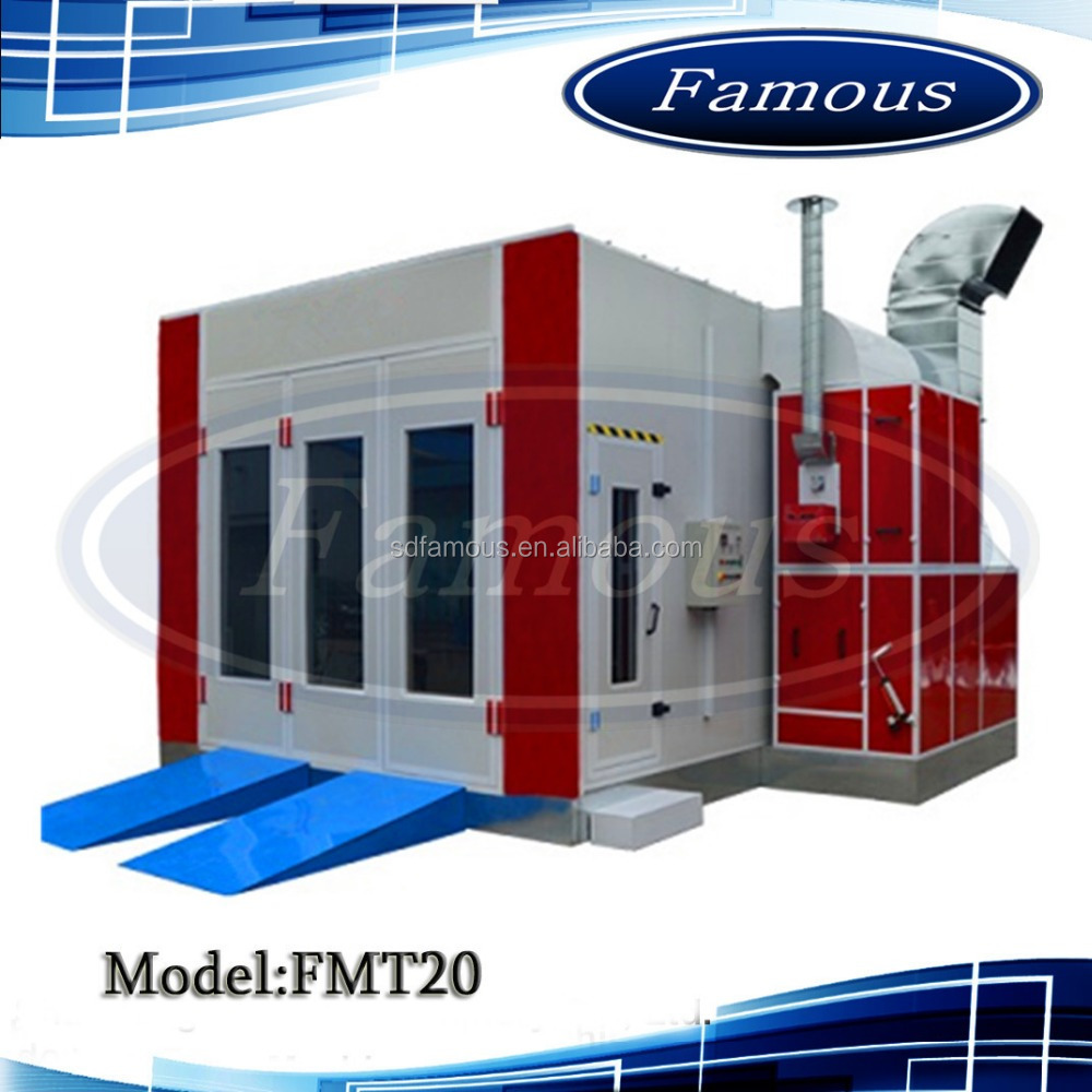 High quality auto spray booth/spray bake booth/car paint mixing machine