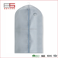 Full Complete Zip Lock Suit Bag, Portable Folding Nonwoven Garment Bag for Dress