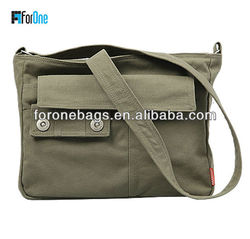 Promotional canvas craft tote bags/army canvas bag/chevron tote bag
