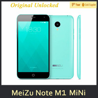 0510 Meizu note M1 Mini Mobile Phone MTK6732 64bit Quad Core Android 4.4 1GB RAM 8GB ROM 5 inch IPS 1280X720 13.0MP