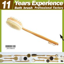 11 years experience professional bamboo bristle bath brush manufacturer, Eco-Friendly bath brush body brush