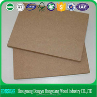 1220x2440mm best price laminated indonesia mdf with good quality