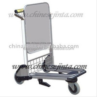Airport passenger luggage trolley baggage trolly hand cart