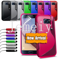 Wholesale Popular S Line soft TPU Case for Samsung Galaxy S6 gel Case