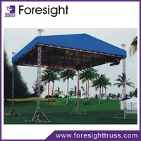 foresight New exhibition concert entertainment aluminum stage curved truss
