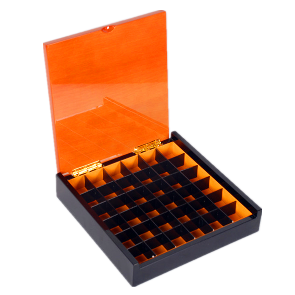 Piano lacquer Gift Date Wooden Chocolate Truffle Packaging Boxes