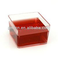 Hot selling catering food party wedding pudding plastic disposable high tea dishes