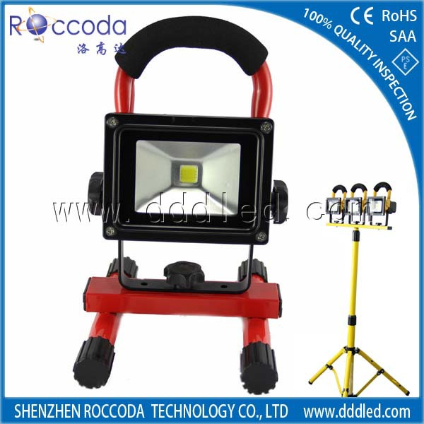 led lights 2014 latest construction products rechargeable hand held spotlights