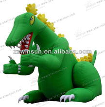Perfect advertisement inflatable dragon