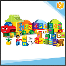 75pcs Big Blocks Number Train Building Set Educational Toys DIY Baby Toys