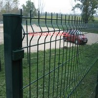 weldmesh fencing with square post