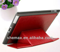 Tablet pc leather cases for ipad accessories