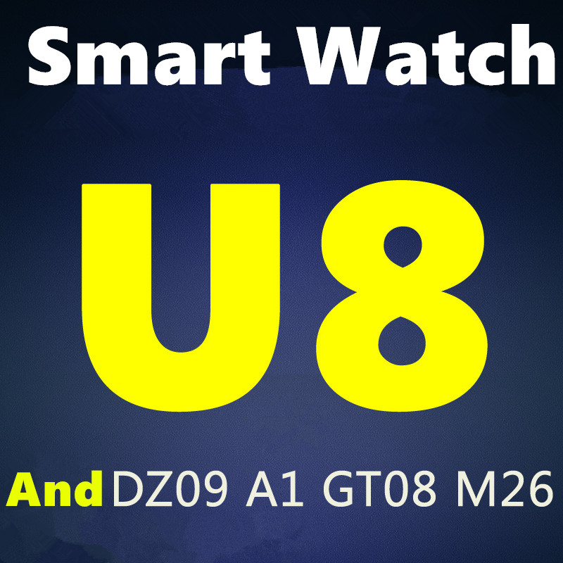 Wholesale Cheap Price Original MTK6261 U8 Bluetooth Smart Watch Smartwatch for iPhone