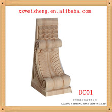 Wooden Decorative Carved Corbel