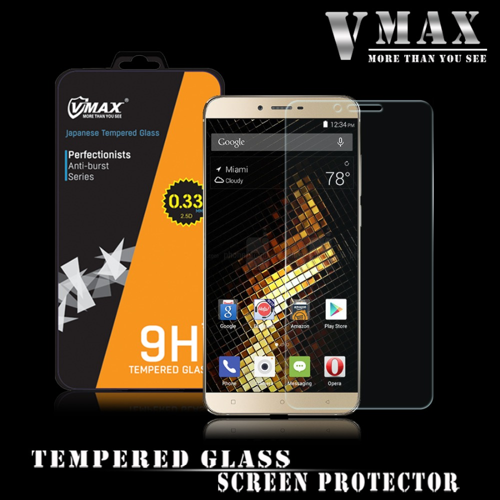 Manufacturer supply Anti shock mobile tempered glass protective film for Blu Viovo 5 screen protector