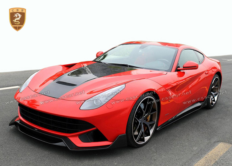 Hot selling body kit , DNC design ,CF material body kit for ferari f12