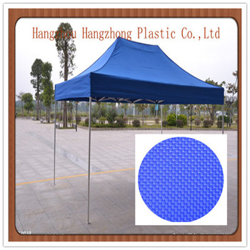 High tear strength 100% polyester tent fabric